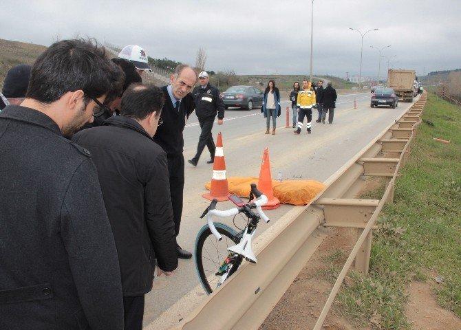 Lisanslı Bisiklet Sporcusu Kazada Hayatını Kaybetti