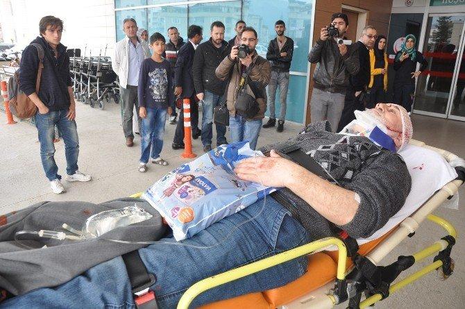 Bursa'da İki Ayrı Kazada 2 Kişi Yaralandı