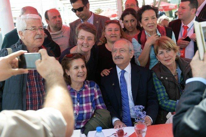 Kılıçdaroğlu'ndan Seferihisar Turu