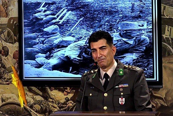 Çanakkale Şehidini Anlatan Albay Hem Ağladı Hem Ağlattı