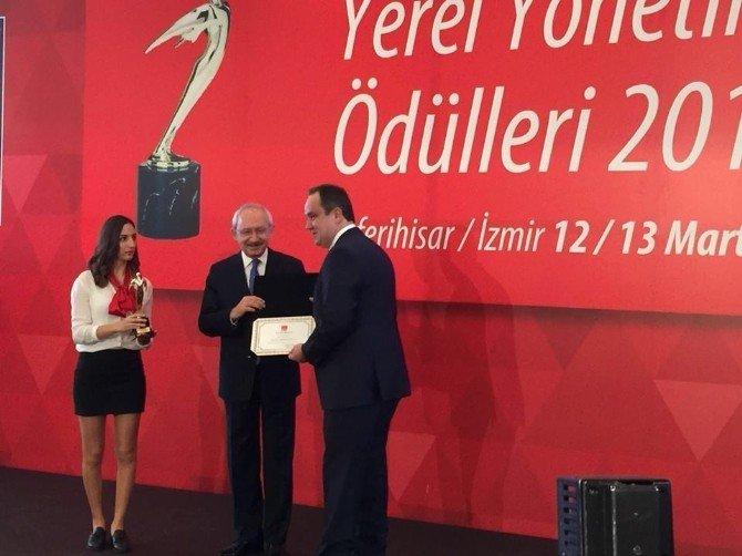 Giresun Belediyesi'ne 'Kentsel Gelişim' Dalında Büyük Ödül