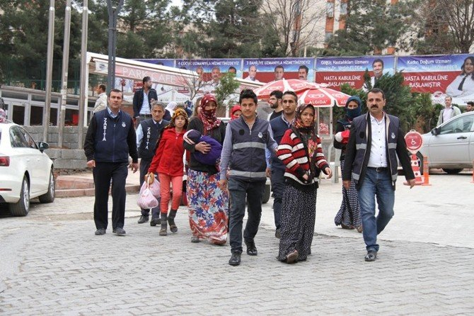 Artuklu'daki Dilenciler Toplatıldı