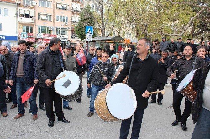 Akşener'e Kırklareli'de Davullu Zurnalı Karşılama