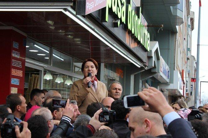 """Meral Akşener: """"Devletin Başına Millet Gelecek"""""""