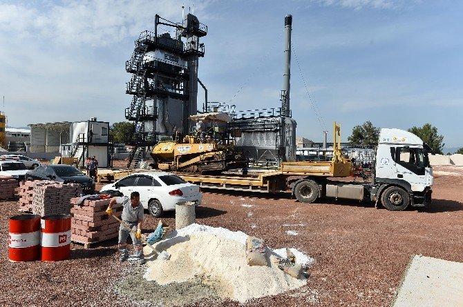 Muratpaşa Belediyesi Asfalt Deneme Üretimi Başladı