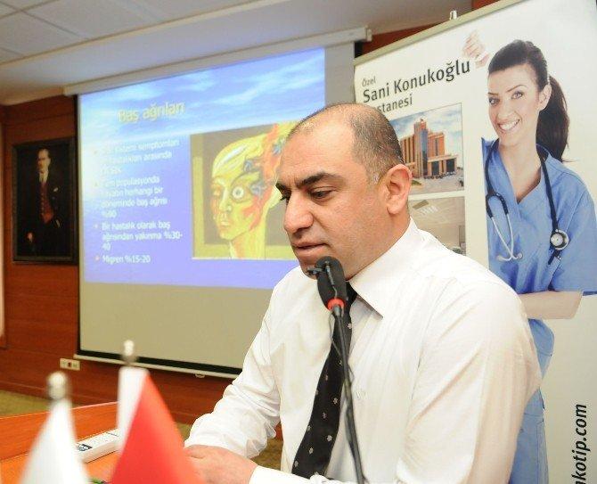 Sani Konukoğlu Hastanesi'nde Halka Açık Konferans