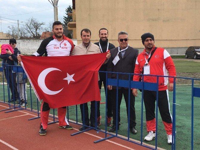 Osman Can Özdeveci Gülle Atmada Avrupa Şampiyonu Oldu