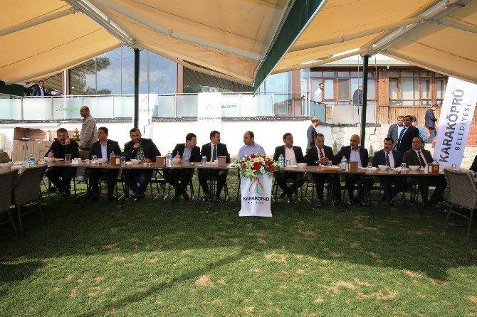 Şanlıurfa AK Parti İlçe Belediye Başkanları Karaköprü'de Biraraya Geldi