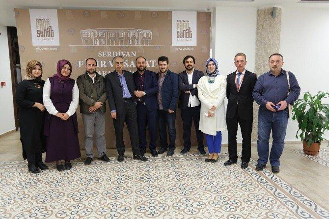 Prof. Dr. Ziyaüddin Serdar Konferans İçin Sakarya'ya Geldi
