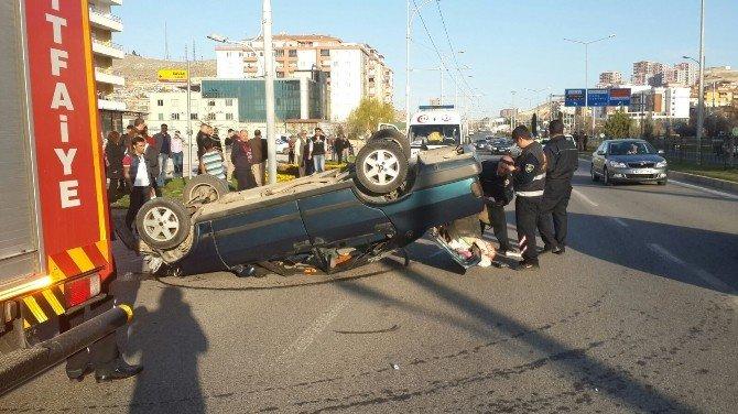 Malatya'da Kaza, 3 Yaralı