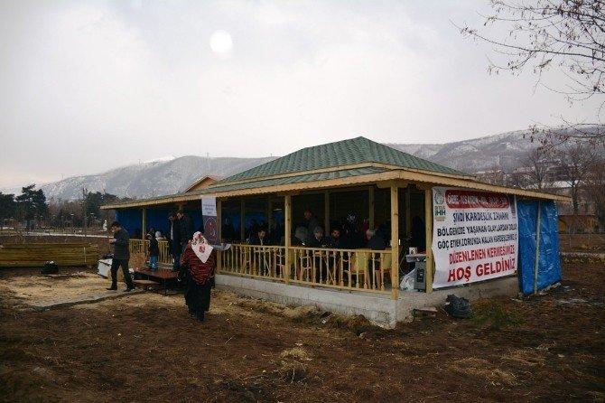 """Bitlis İHH Ve Tatvan İnsan-der'den Ortak """"Yardım"""" Kermesi"""