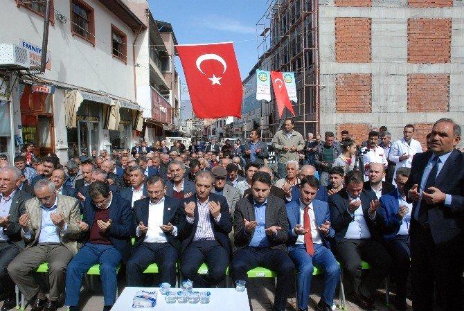 Tokat'ta Kooperatif Binası Temeli Törenle Atıldı