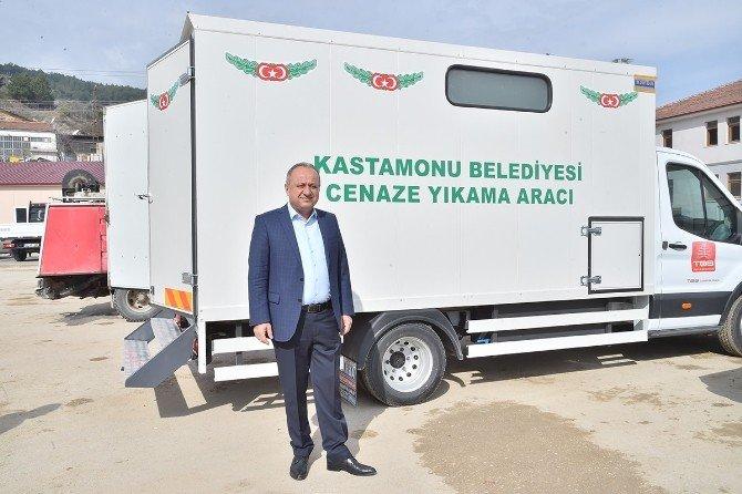 Kastamonu Belediyesi'ne Yeni Cenaze Yıkama Aracı