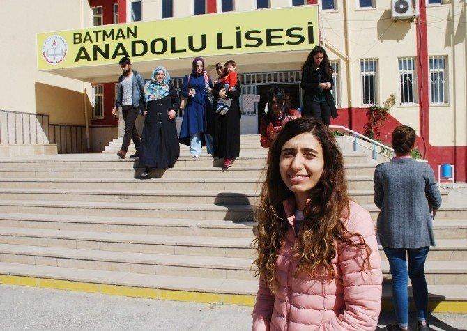 Terör Mağduru Öğrenciler Batman'da Sınava Girdi