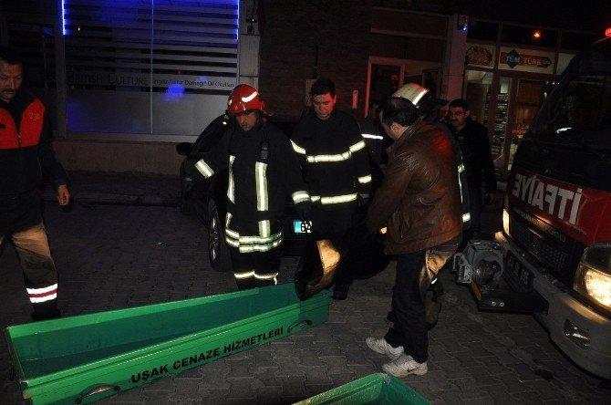Uşak'taki Ev Yangınından Cinayet Çıktı