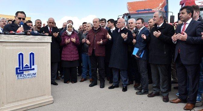 Dadaşlardan Türkmenlere İkinci Yardım Konvoyu