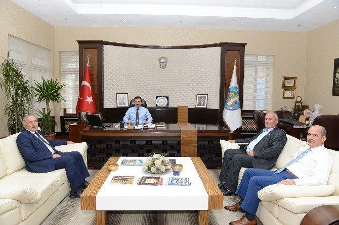 Saraydüzü Belediyesi'nden Başkan Külcü'ye Ziyaret