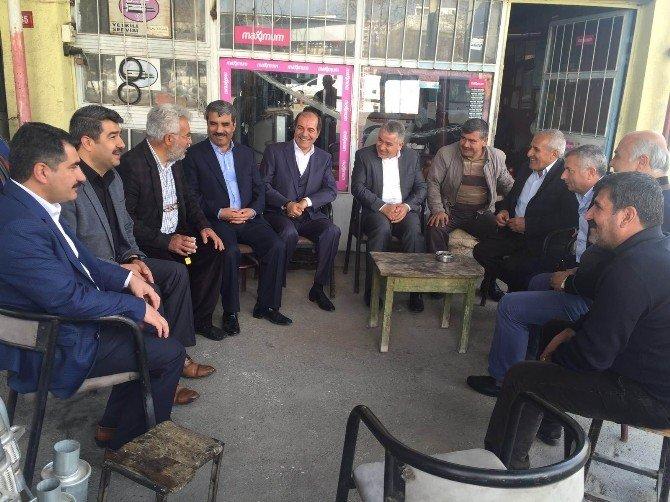 Milletvekili Adnan Boynukara İşçilerle Bir Araya Geldi