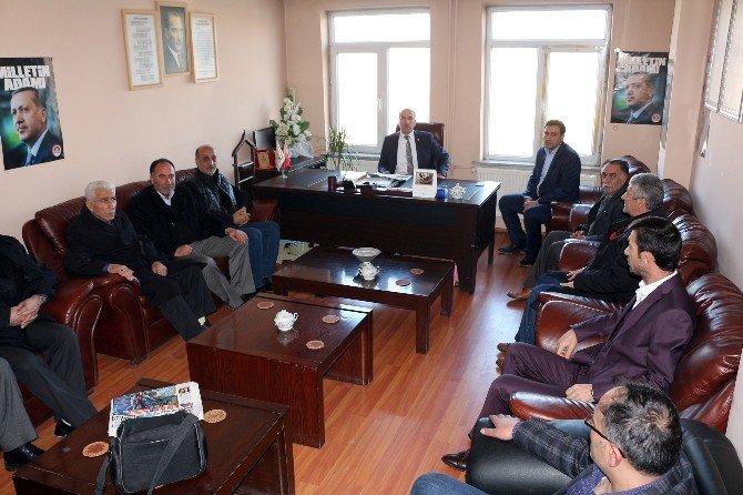 AK Parti Ağrı Milletvekili Gökçe'den Ziyaretler