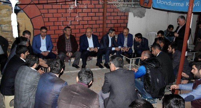 AK Partililer Sabah Namazı Sonrası Bir Araya Geldi