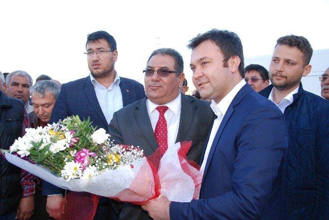 AK Parti Silifke İlçe Başkanı Çetin Görevi Devraldı