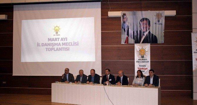 AK Parti Mart Ayı Danışma Meclisi Toplantısı Gerçekleştirildi