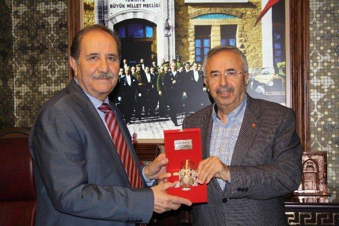 AK Parti Sivas Milletvekili Soluk, SESOB'u Ziyaret Etti