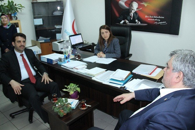 AK Parti Milletvekili Çaturoğlu Sağlık Kuruluşlarını Ziyaret Etti