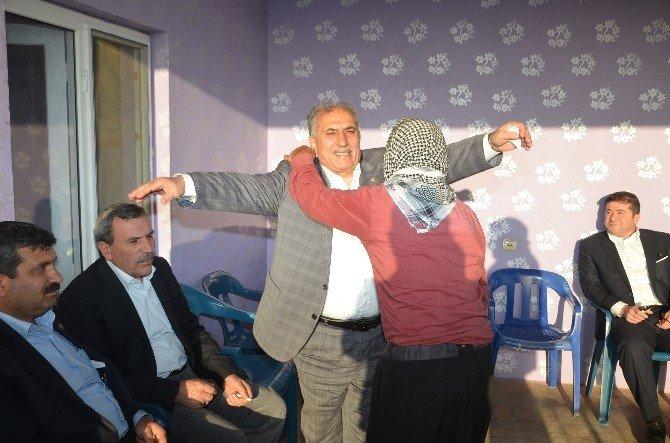 Millevtekili Akyürek Viranşehir Ve Ceylanpınar'da Vatandaşlarla Buluştu