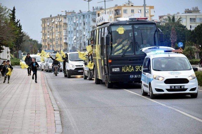 İzmir Süper Amatör Liginin Şampiyonu Aliağa
