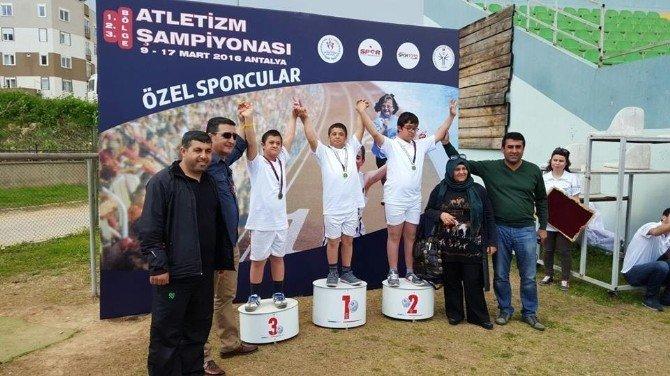 Adıyamanlı Özel Sporcular 28 Madalya İle Döndü