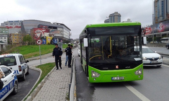Benzin Yüklü Midibüs İddiası, Polisi Alarma Geçirdi