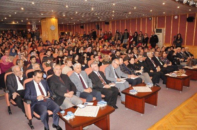 BÜ'de Mehmet Akif Ersoy Anıldı