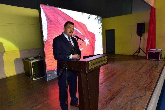 Malatya'da, Çanakkale Deniz Zaferi'nin Yıldönümü Kutlandı