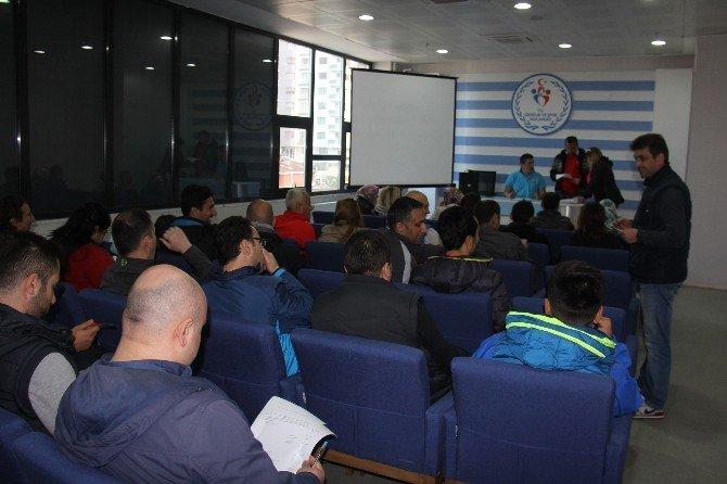 Rize'de Dart Hakemliği Kurslarına İlgi Beklenenin Üzerinde Oldu