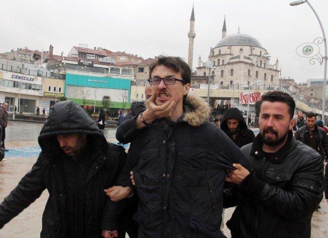 Zincirli Terör Protestosu
