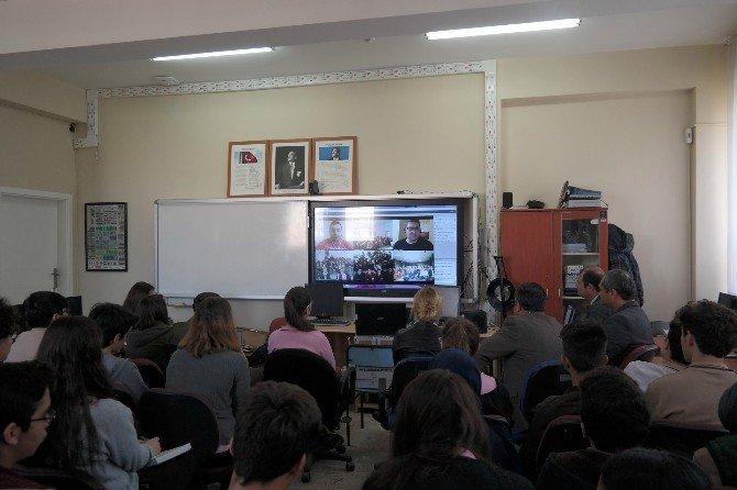 Didimli Öğrenciler NASA İle E-konferans Gerçekleştirdi
