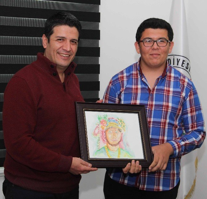 Döşemealtı'nın Genç Vekilleri, Başkan Genç'i Ziyaret Etti