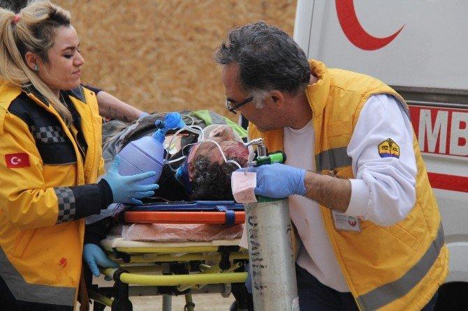 Eskişehir'de İş Kazası