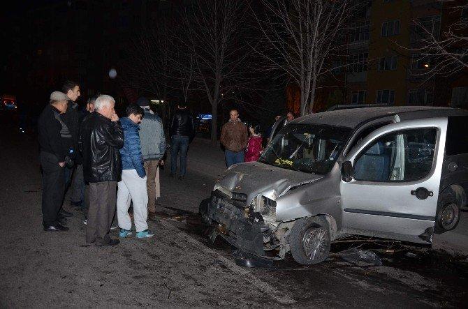 Eskişehir'de Trafik Kazası: 2 Yaralı