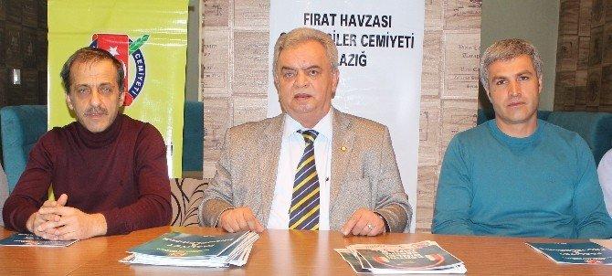Fırat Havzası Gazeteciler Cemiyeti'nden Bilgilendirme Toplantısı