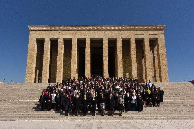 TSK'nın Kadın Gücünden Anıtkabir'e Ziyaret