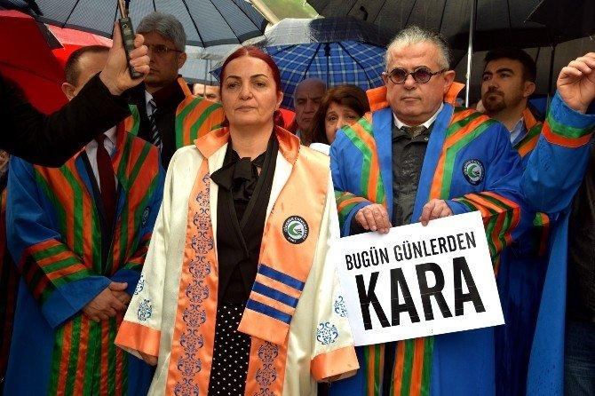 Ankara'da Gerçekleştirilen Bombalı Saldırı Giresun Üniversitesi'nde Protesto Edildi