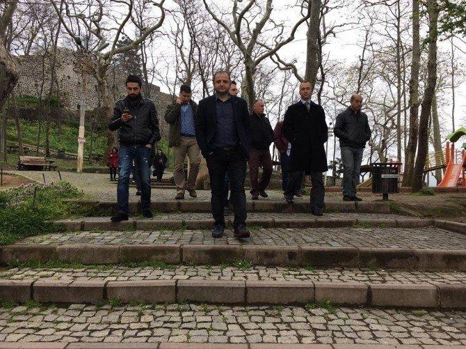 Trabzon Merkezli Seyehat Acentelerinden Giresun'a Ziyaret