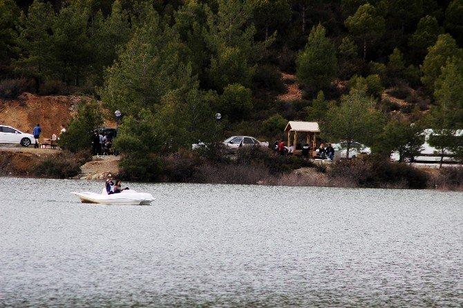 Ula Göleti'nin Çehresi Değişti