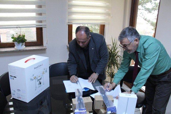 İnönü Belediyesi İle THK Şube Başkanlığı Arasında Protokol