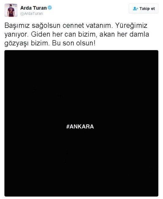 Eski Galatasaraylı Yıldızlardan Ankara Mesajı