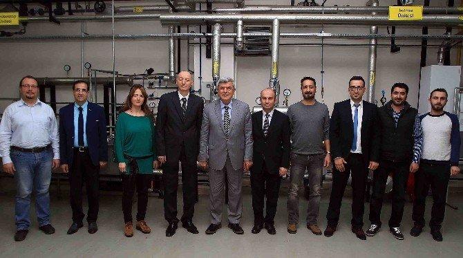 Başkan Karaosmanoğlu, TMMOB Odalarını Ziyaret Etti