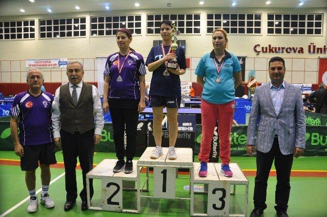 4. Adana Veteranlar Masa Tenisi Turnuvası Tamamlandı