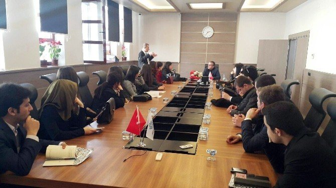 Aday Öğretmenler Süleymanpaşa Belediyesi'ni Ziyaret Etti